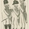 2nd Lord Napier. 3rd Maj. Pilmer, 1st Ma. Clarkson[?]--officers of Hopetown Fencible.