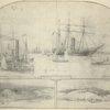 Flotilla of the Potomac River; Freestone Point; ---- --- Creek
