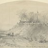 Ulic (John A.B.) Dahlgren's Naval Battery. Road to Fairfax County, near Alexandria. July 29th, 1861.