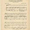 A typical tune of Zanzibar