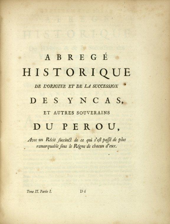 Fascinating Historical Picture of Antonio de Ulloa in 1752