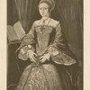 Bildnis der prinzessin Elizabeth von England. [Portrait of Princess Elizabeth of England.]