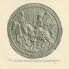 Abb. 16. Reitersiegel Phillips II von Spanien un seiner Gemahlin Maria von England. [Rider seal of Phillip II of Spain and his wife Mary of England.]