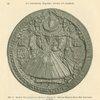 Abb. 19. Groses Thronsiegel der Königin Elizabeth. [Large throne seal of Queen Elizabeth.]