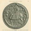 Abb. 20. Groses Reitersiegel der Königin Elizabeth. [Large rider seal of Queen Elizabeth.]