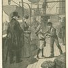 Dick boards the steamer to bid good-bye to Lord Fauntleroy.