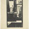 Henry Irving's dressing room.