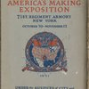 The book of America's Making Exposition ...  (Cover)