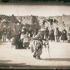 Hopi dancers at First Mesa in Arizona.