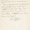 [Handwritten note, 1884-1885]