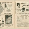 [Program for the opening night (3/29/1951) of The King and I]
