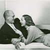 [Publicity shot of Yul Brynner (The King) and Gertrude Lawrence (Anna Leonowens) of The King and I]