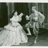 [Gertrude Lawrence (Anna Leonowens) and Yul Brynner (The King) in The King and I]