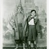 [Santy Josol (Prince Chulalongkorn) and Barclay Hodges (Louis Leonowens) in the 1954 National Tour of The King and I]