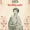 [Souvenir program featuring Celeste Holm (Anna Leonowens replacement) for The King and I]