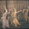 [Wonci Lui (Little Eva), Julie Oser (Topsy), Yuriko (Eliza) and Marion Jim (Angel/George) in the 1960 revival of The King and I]