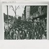 Crowds gathered on Lenox Avenue in Harlem, north of West 134th Street, on Armistice Day, 1919