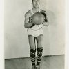 Hillary Brown, forward for the Harlem Globetrotters, ca. 1940