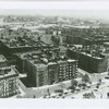 Aerial view of Harlem, looking southeast, possibly from Edgecombe Avenue above Colonial (now Jackie Robinson) Park, in 1939
