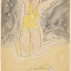 Isadora Duncan (on knees, yellow tunic)