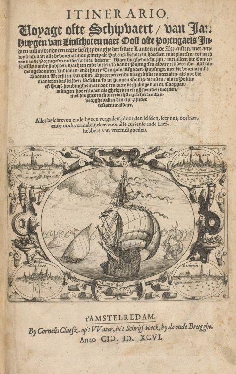 Fascinating Historical Picture of Jan Huygen van Linschoten in 1596