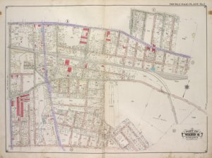 Queens, Vol. 1A, Double Page Plate No. 2; Part of Ward 4 Jamaica. [Map bounded by Jamaica Ave., 175th St., 90th Rd., 179th PL., 181st PL.; Including  181st St., 108th Ave., New York Ave.]