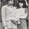 Robert Guillaume and Norma Donaldson in the stage production Bubbling Brown Sugar
