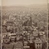 Panorama of San Francisco taken from the tower of the house of Mrs. Mark Hopkins