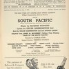 Program for the 1955 revival of South Pacific