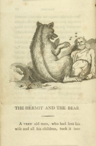 The hermit and the bear.