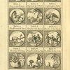 Fables anciennes et modernes [Plate for fables 1-12].