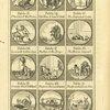 Fables anciennes et modernes [Plate for fables 13-24].