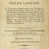 Mylius's school dictionary of the English language, [Title-page]