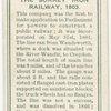 The Surrey Iron railway, 1803.