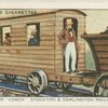 "Passenger ""coach"", Stockton & Darlington railway, 1825."