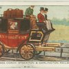 First-class coach, Stockton & Darlington railway, 1826.