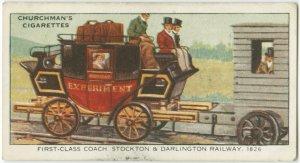 First-class coach, Stockton & Darlington railway, 1826.
