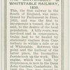 The Canterbury & Whitstable railway, 1830.