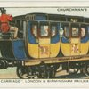 "A ""mail carriage"", London & Birmingham railway, 1837."