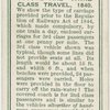 Second and third class travel, 1840.