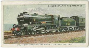"Southern railway ""schools"" engines, 1930."