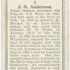 J. O. Anderson, (Australia).