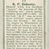 R. F. Doherty, (Great Britain).