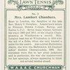 Mrs. Lambert Chambers, (Gt. Britain).