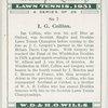 I. G. Collins.