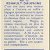 Renault Dauphine.