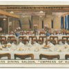 "Third Class Dining Saloon.  Canadian Pacific Liner ""Empress of Australia."""