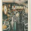 "Engine Room.  Cunard Liner ""Mauretania."""