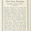 "Third class playroom.  Canadian Pacific Liner ""Melita."""