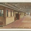 "Promenade deck.  P. & O. Liner ""Cathay."""